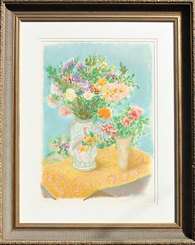 Ira Moskowitz (1912-2001) NY, Colored Lithograph