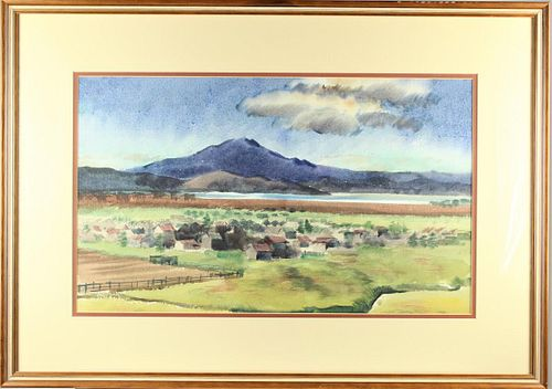 James H. Forman (1910-1969) American, Watercolor