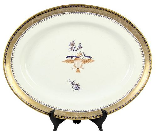 Mottahedeh Diplomatic Collection Platter
