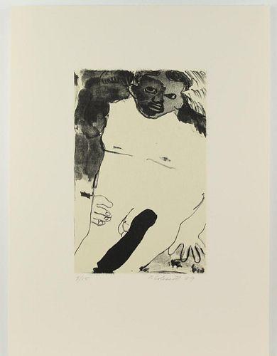 Robert Colescott (1925-2009) Amer, Erotic Litho
