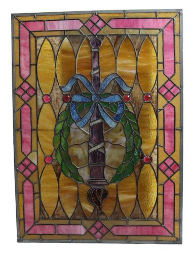 Antique/Vintage Stained Glass Window