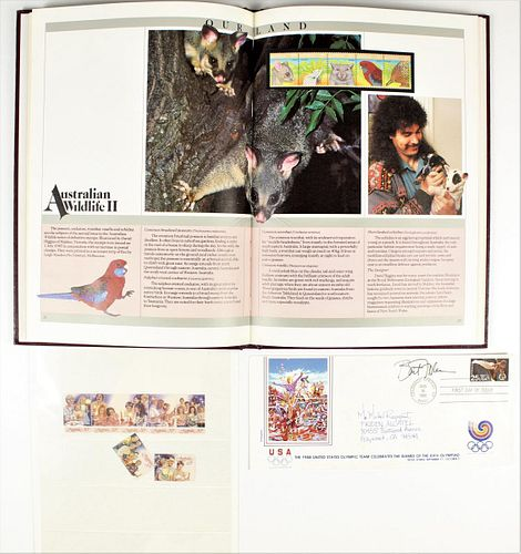1987 Collection of Australian Stamps