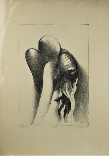 Roberta Weir (American), Lithograph
