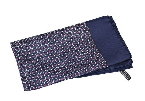 Hermes Paris Silk Pocket Square