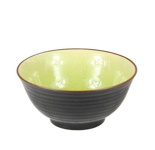 Chinese bowl with Dark Exterior Glaze