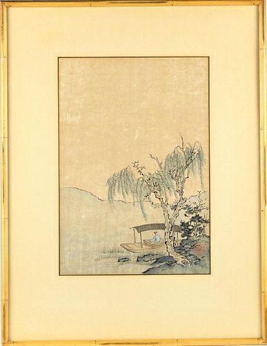 Sheng Hua, Watercolor and Ink