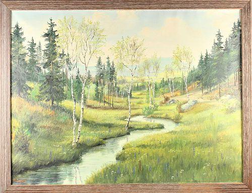 Margaret Ziegler (1909-1989, American) Oil