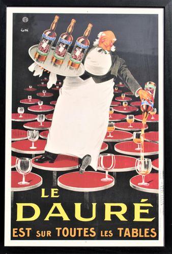 "Vintage French Poster ""Le Daure"""