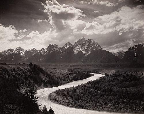 ANSEL ADAMS - The Tetons and Snake River, Grand Teton NP, WY, 1942