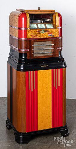Wurlitzer model 61 countertop juke box