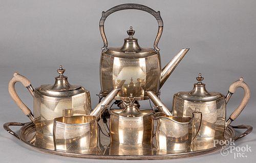 J.E. Caldwell sterling silver service