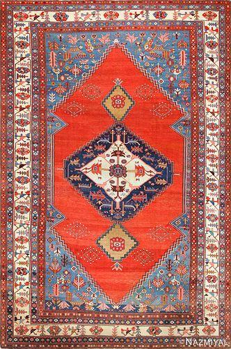 Antique Persian Bakshaish carpet , 9 ft 8 in x 14 ft 3 in (2.95 m x 4.34 m)