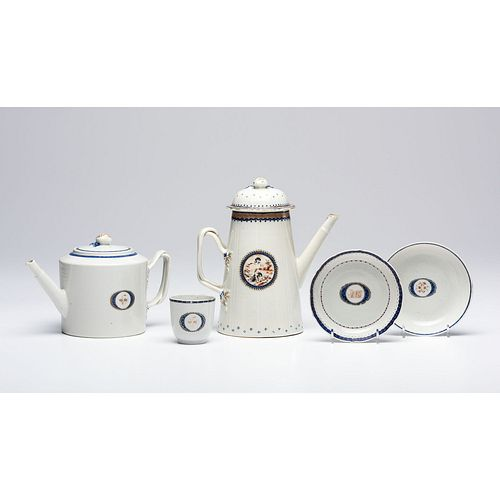 A Group of Fine Chinese Export Porcelain
