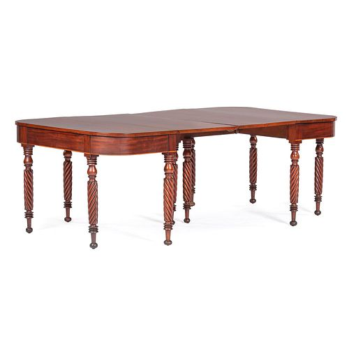 A Federal Cherry Dining Table