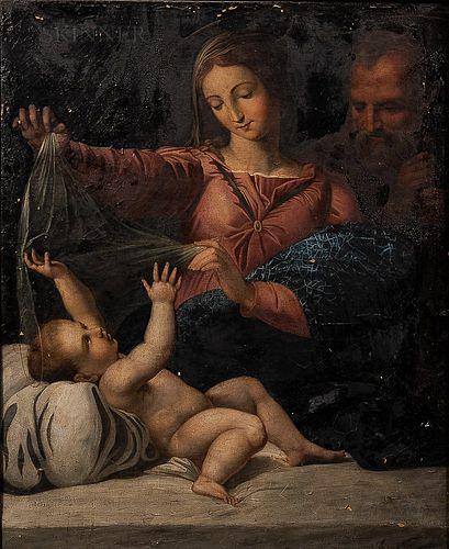 After Raphael (Italian, 1483-1520)      Copy of the Madonna of Loreto
