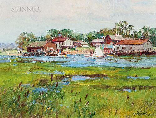 Paul Strisik (American, 1918-1998)      Essex