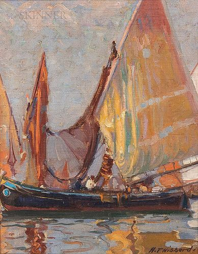 Aldro Thompson Hibbard (American, 1886-1972)      Venetian Sails