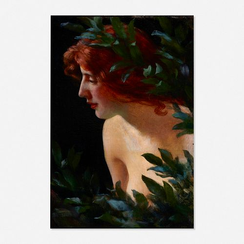 Charles Courtney Curran, Wood Nymph Study