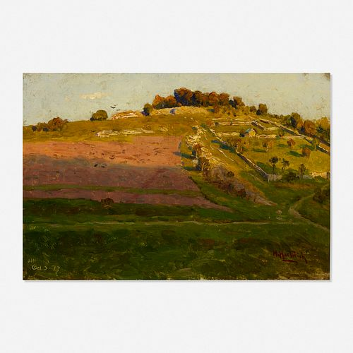 Hermann Hartwich, The Field on the Hill