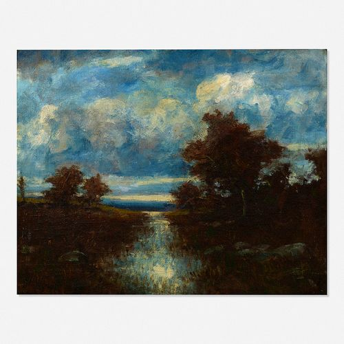 Alexander Helwig Wyant, Autumn Landscape
