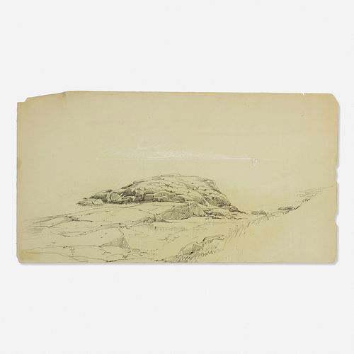 Thomas Moran, attribution, Landscape Study