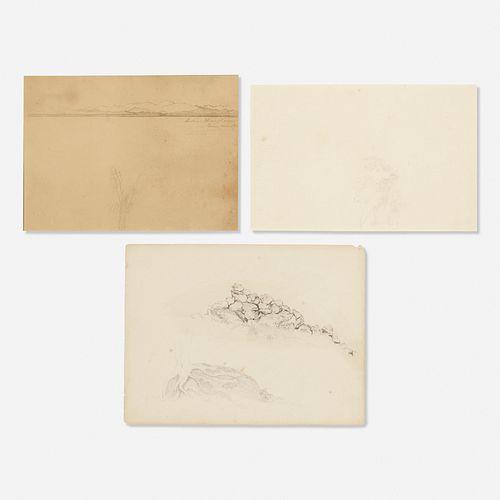 Martin Johnson Heade, three works