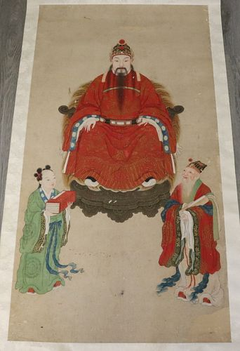 Ancestral Scroll Painting.
