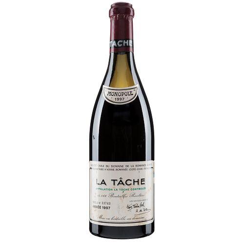 La Tâche. Cosecha 1997. Domaine de la Romanée - Conti. Vosne - Romanée. Nivel: a 7 cm. Calificación: 93 / 1...