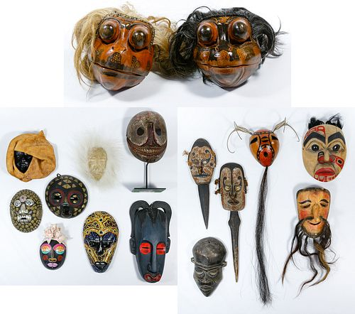 Tribal Mask Assortment