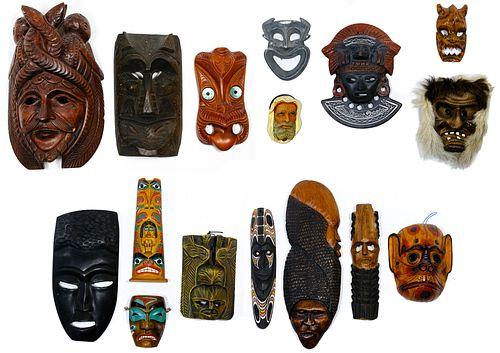 Tribal Style Mask Assortment