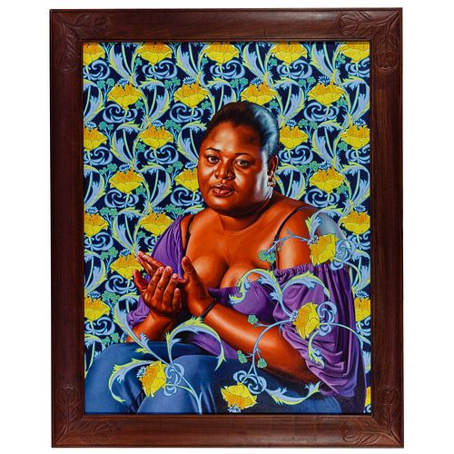 Kehinde Wiley (American, b.1977) 'Psyche Abandoned' Oil on Linen