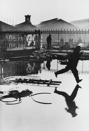 Henri Cartier-Bresson (1908-2004)  - Behind the Gare Saint Lazare, 1932