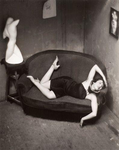 Andrè Kertèsz (1894-1985)  - Satiric Dancer, Paris, 1926