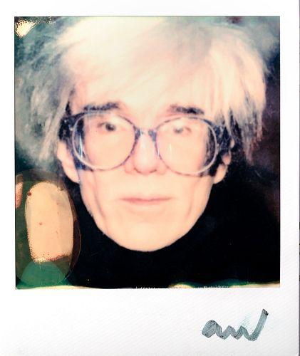 Andy Warhol (Pittsburgh 1928-New York 1987)  - Self-Portrait , years 1980