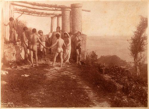 Wilhelm von Gloeden (1856-1931)  - Young sicilian boys, Taormina, 1900