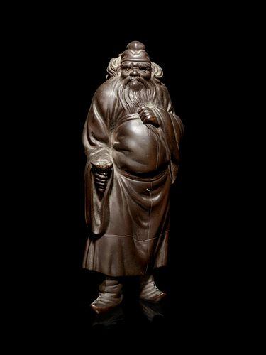 A Bronze Figure of an Immortal