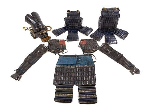 A Japanese Suit of Armor