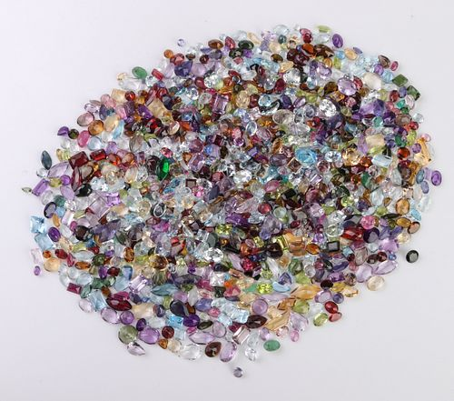 469.3 cttw. Loose Mixed-Cut Colored Gemstones