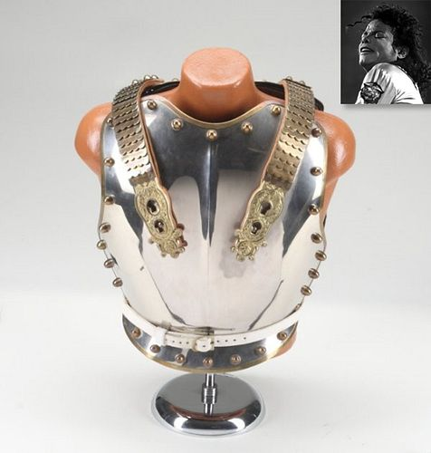 British Cuirass and Helmet, ex. Michael Jackson
