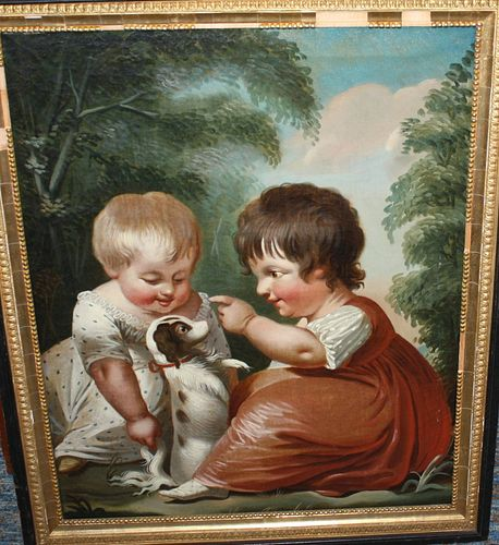 ATTRIBUTED TO MICHELE CORNE (1752-1845, NEWPORT,