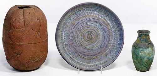 Raku Style Pottery Assortment