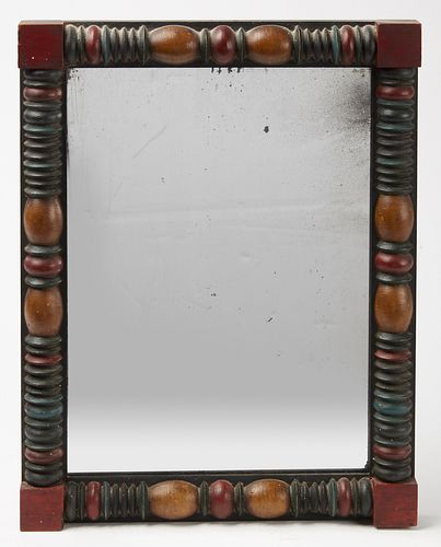 Paint Decorated Mirror