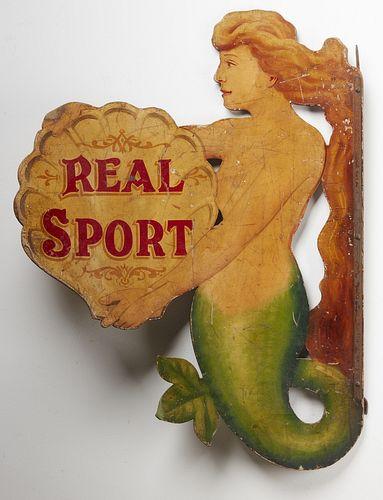 Mermaid Circus Sign