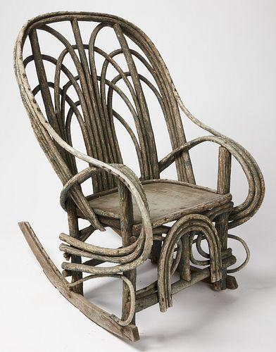 Twig Rocking Chair
