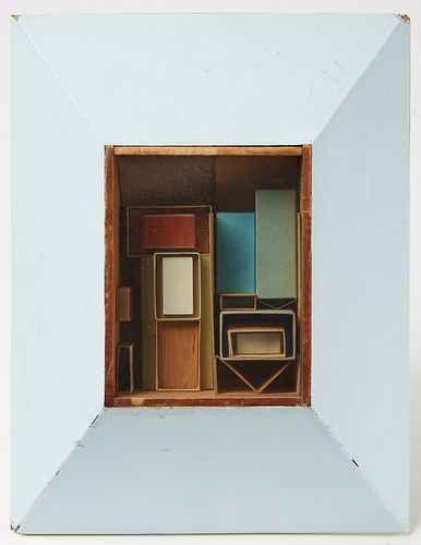 Addie Herder - Contemporary Box Construction - 1961