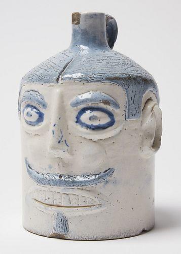 Rare Galloway Face Vessel