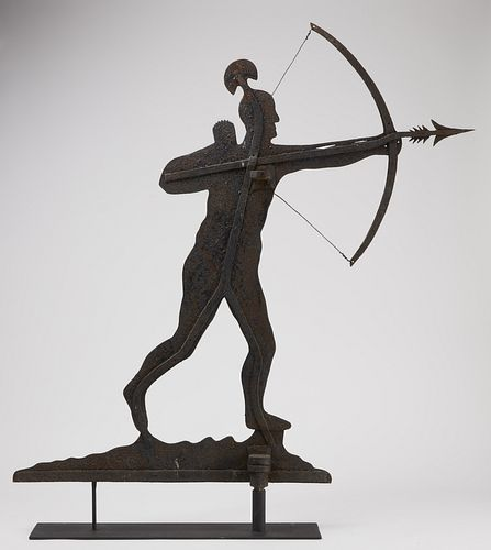 Exceptional Early Indian Weathervane