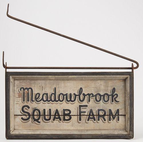Trade Sign - Squab Farm