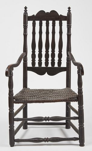 Bannister Back Arm Chair