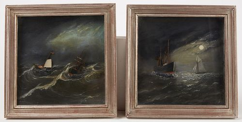 Two Nautical Paintings